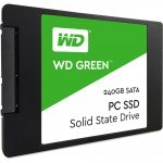 """240GB Western Digital WD Green Solid State Drive SSD 2.5"""" SATA interface WDS240G1G0A Angle 718037852966"""