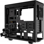 Be Quiet! Pure Base 600 ATX Workstation Chassis right back of case without sides