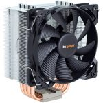 High performance cooling with very low noise from the Be Quiet Pure Rock CPU air cooler
